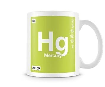 Periodic table of elements 80 hg mercury symbol mug amazon periodic table of elements 80 hg mercury symbol mug urtaz Gallery