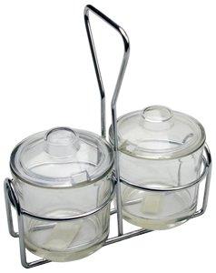 Condiment Jar Holder 2 Jars ( 24 ea/cs )