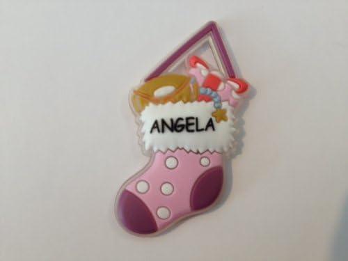 Angela Christmas Stocking