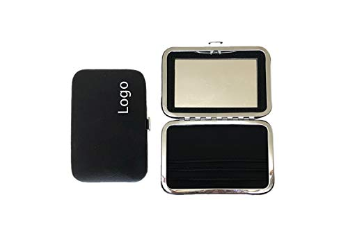Compact mirror with Name Card Holder - PROMOTIONAL PRODUCT/BRANDED WITH YOUR LOGO/CUSTOMIZED/ FREE ARTWORK DESIGN (Can be ()
