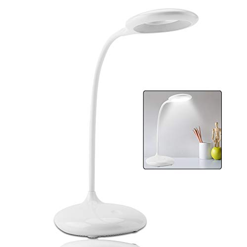 Lámpara de Escritorio LED, 1200mAh portátil Sensor táctil táctil ...