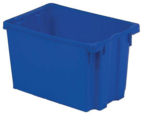 Lewisbins Stack and Nest Container, High Density Polyethylene, 19-1/2