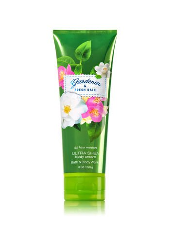 Bath & Body Works Cream Gardenia & Fresh Rain , 8oz
