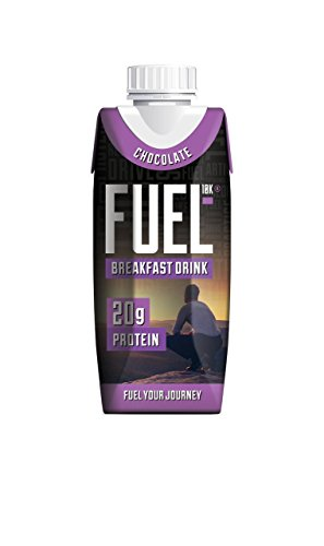 Fuel Liquid Breakfast, Chocolate, 8 Count