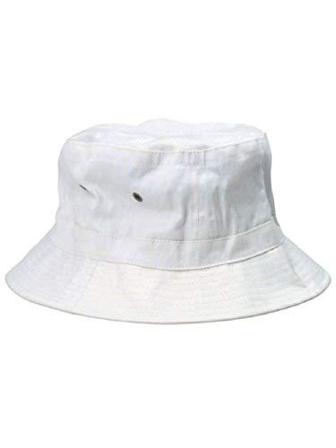White Popeye Gilligan Sailor Captains Navy Fishing Marine Costume Bucket Hat]()