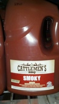 Cattlemen's: Smoky Barbecue Sauce 1 Gallon (2 Pack)