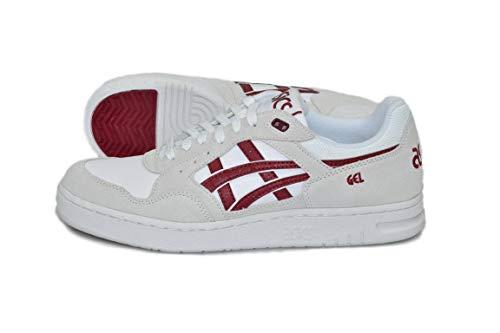 Sneaker burgundy Asics Asics Sneaker burgundy Asics White Uomo Uomo White wTwAYqa