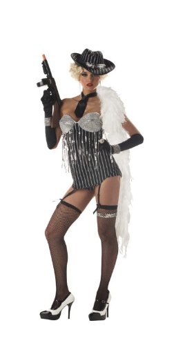 Glitzy Gangster Adult Costume -