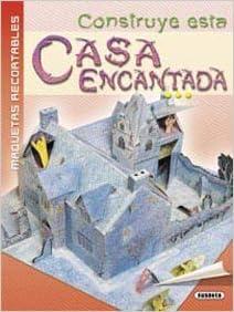 Construye esta casa encantada (Maquetas Recortables): Amazon ...