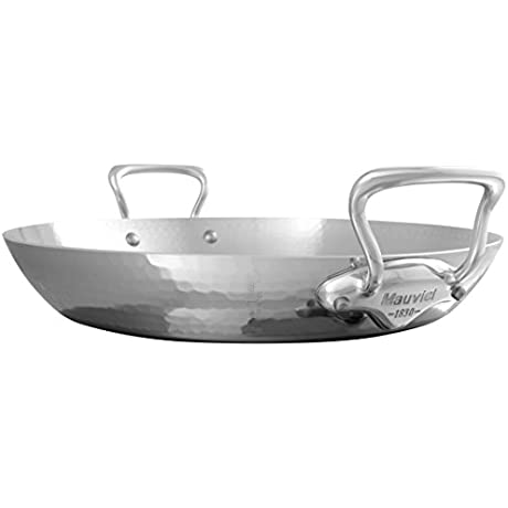 Mauviel 5277 35 M Elite Paella Pan 13 8 Stainless