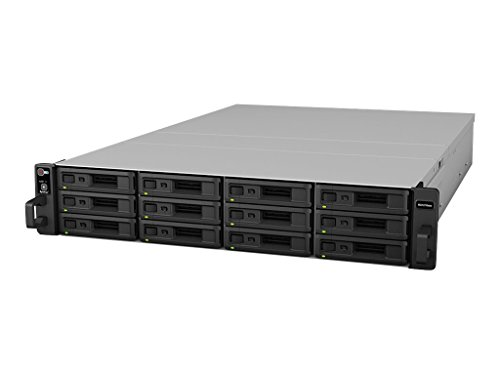 Synology High-Availability 12-Bay Rack Mount Expansion Unit (RX1216sas) by Synology