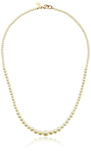 Graduated Faux Pearl Necklace (1928 Bridal Eloquence 18