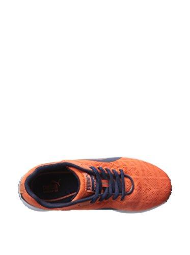 PUMA Kid's Narita V2 JR Sneaker, Nasturtium/Peacoat, 1.5 US Little Kid by PUMA (Image #7)