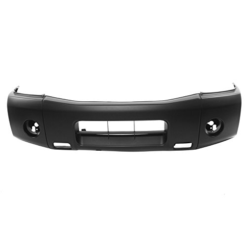 CARPARTSDEPOT 11-13 Titan Front Bumper Cover Primered 04-10 XE NI1000237 620227S020