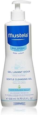 Mustela Gentle Cleansing Body Gel, 16.9 oz.