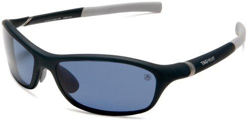 TAG Heuer Men's 27 Degree 6001-405 Sunglasses,Blue Frame/Blue Lens,one - 6001 Sunglasses