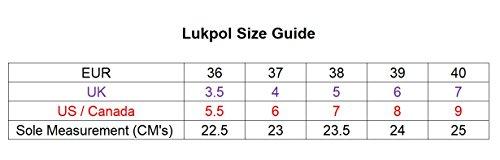Lukpol Scarpe Zoccoli Acqua Resistenti Giardinaggio Donna Blu OOAdRqwTrx
