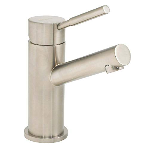 Bath Single Mount Bn Hole - Speakman SB-1003-BN Neo Single Lever Bathroom Faucet, Brushed Nickel