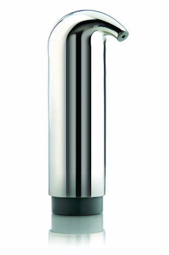 Eva Solo Soap Dispenser, 7 by 22 cm, Polished Stainless Steel, by eva solo