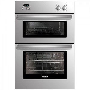 Prima LPR806 Built in Gas Double Cavity Oven: Amazon.co.uk: Large ...