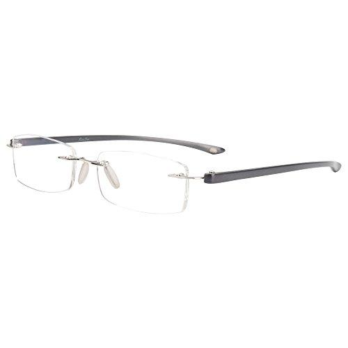 Liansan Brand Designer Unisex Eyeglasses Frames Men Women Clear Lens Lmo-017 (black frame)