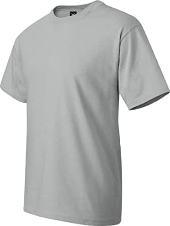Hanes Beefy-T Adult Short-Sleeve T-Shirt, Ice Gray, Size-S
