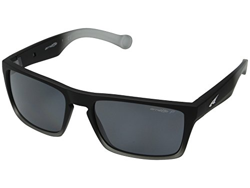 Arnette Specialist AN4204 - 2253/81 Polarized Rectangular Sunglasses, Black, 59 mm ()