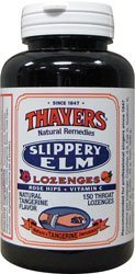 Rose Hip Lozenges - Thayer Slippery Elm Rosehip Tangerine Lozenges - ( 1 x 150 Ea) by Thayer's