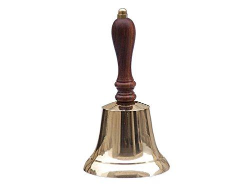 Brass Hand Bell 9