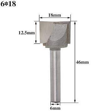 ZZB-ZT, Planfräser 1 stück CNC Hartmetall Schaftfräser Werkzeug 3D Holzbearbeitung Einsatz Fräser Wolfram Reinigung Schaftfräser (Size : NO 4)