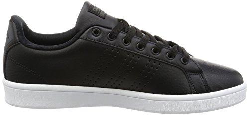 Adidas Mannen Cloudfoam Voordeel Sneaker Zwart (cblack / Cblack / Dgsogr)