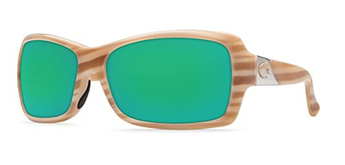 Costa Del Mar Sunglasses - Islamorada- Plastic / Frame: Morena Lens: Polarized Green Mirror 580P - Islamorada Sunglasses Costa
