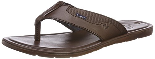 Bugatti Men's 311487801200 Flip Flops Brown (Dark Brown 6100) d5i541iz