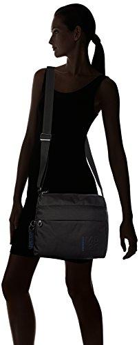 Md20 y de Shoppers Duck hombro Negro Mujer bolsos Mandarina Tracolla Black IxwYq5tOx