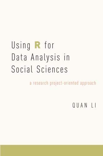 Using R for Data Analysis in Social Sciences: A Research Project-Oriented Approach