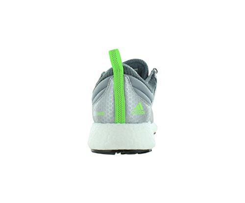 Adidas Ch Raket Boost Mens Skor Storlek Färg Grå / Järn Metallic / Sol Grön