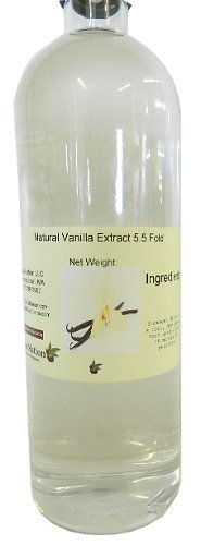 Natural Vanilla Extract 5.5 Fold 32 oz by OliveNation