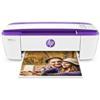HP DeskJet 3755 All-in-One Printer in White and Purple (Certified Refurbished)