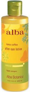 Alba Hawaiian After Sun Lotion Kona Coffee (Alba Botanica: Natural Hawaiian After Sun Lotion Kona Coffee, 8.5 oz)