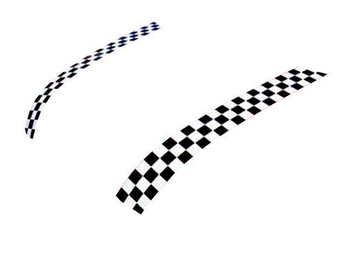 Mini Cooper/Cooper S Magna Guard Hood Bonnet Stripes Checkered Magnetic for Hatchback (R50 & R53) & Convertible (R52)