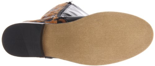Wanted High Leopard Stampede Women's Knee Shoes rqOxawr
