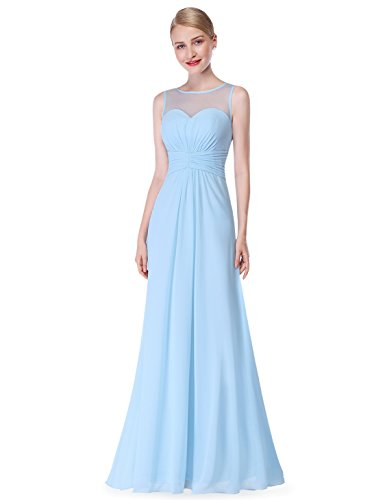 Ever Pretty Womens Sleeveless Neckline Bridesmaid Features
