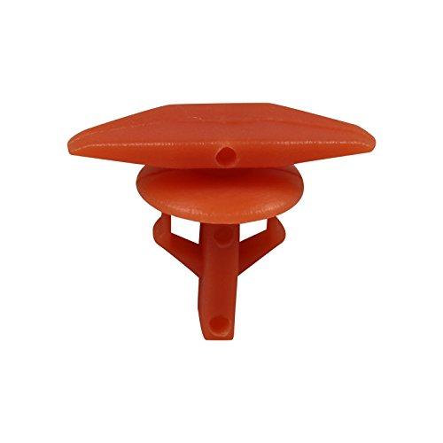 Weatherstrip Piece 10 (Bross BCF1065 10 Pieces Weatherstrip Retainer for Honda: 91530-SP1-003)