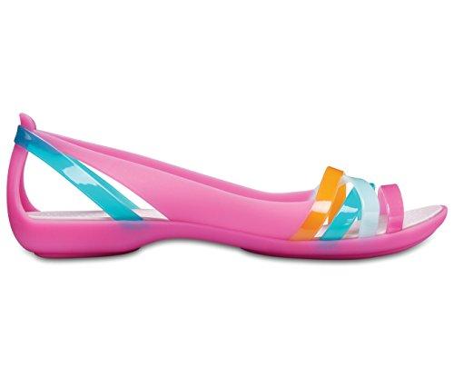 2 Women's Sandal Crocs Rose Isabella Dust Huarache Paradise Pink qtRHv4wx