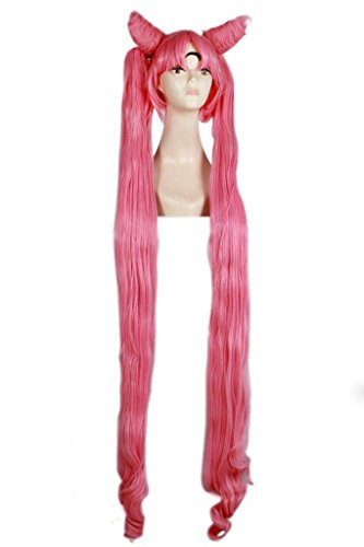 Lemail Wig Long Lady Cospaly Wig Pink