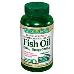 Nature's Bounty Fish Oil 1400 mg Omega-3 Softgels 39 ea ( Pack of 12) by Nature's Bounty