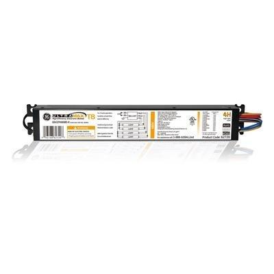 (Case of 10) GE 62720 GE432MAXP480-H 4-Lamp F32T8 480V Electronic - High Efficiency Multivolt Instant Start Fluorescent Ballast
