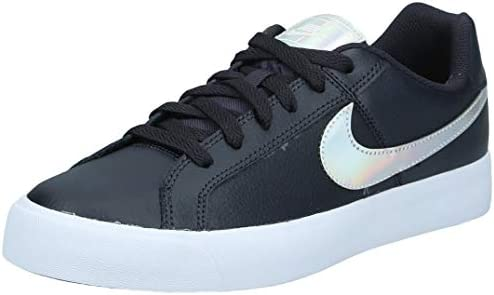 Me preparé Confidencial Apelar a ser atractivo  Nike Court Royale Ac Women's Sneakers, Multicolour (Oil Grey/Silver/Light  Cream 002), 8.5 UK (40 EU), NKAO2810: Buy Online at Best Price in UAE -  Amazon.ae