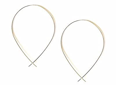 April Soderstrom Featherweight Small Fish Hoop Earrings from April Soderstrom