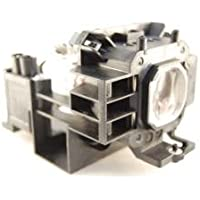 NEC NP300 projector lamp replacement bulb with housing - high quality replacement lamp
